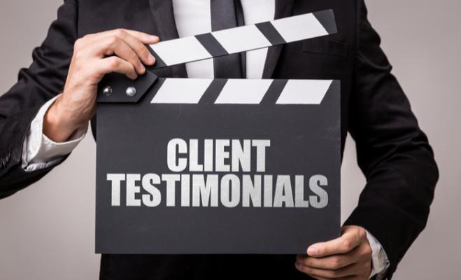 Customer Video Testimonial