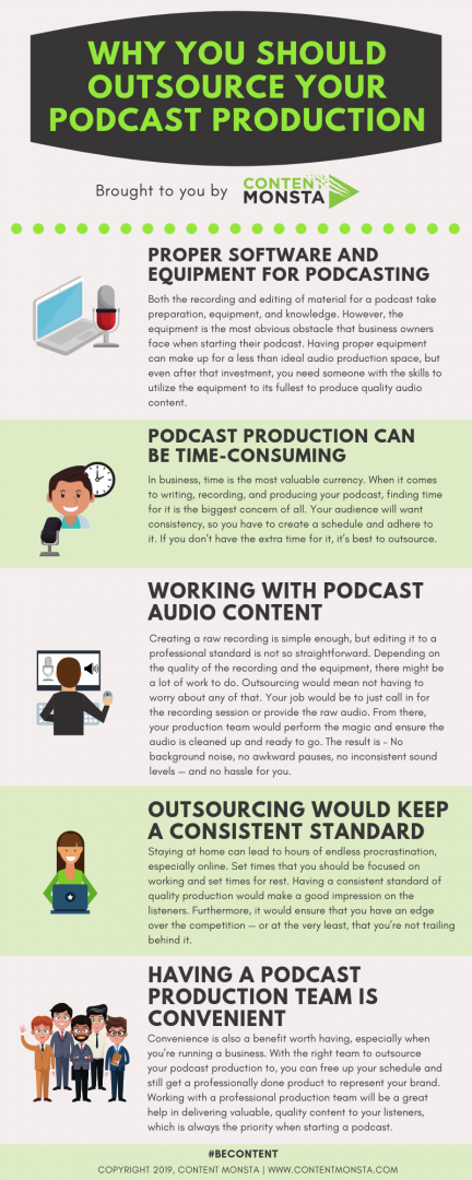Why You Should Outsource Your Podcast Production