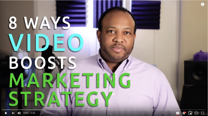 8 Ways Video Boosts Marketing Strategy