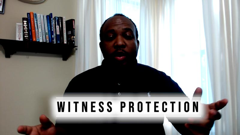 Bad Backlighting for Video - The Witness Protection - Virtual Video Presentation Tips
