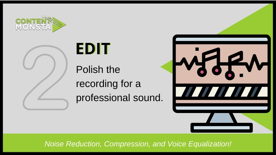 Edit your recording