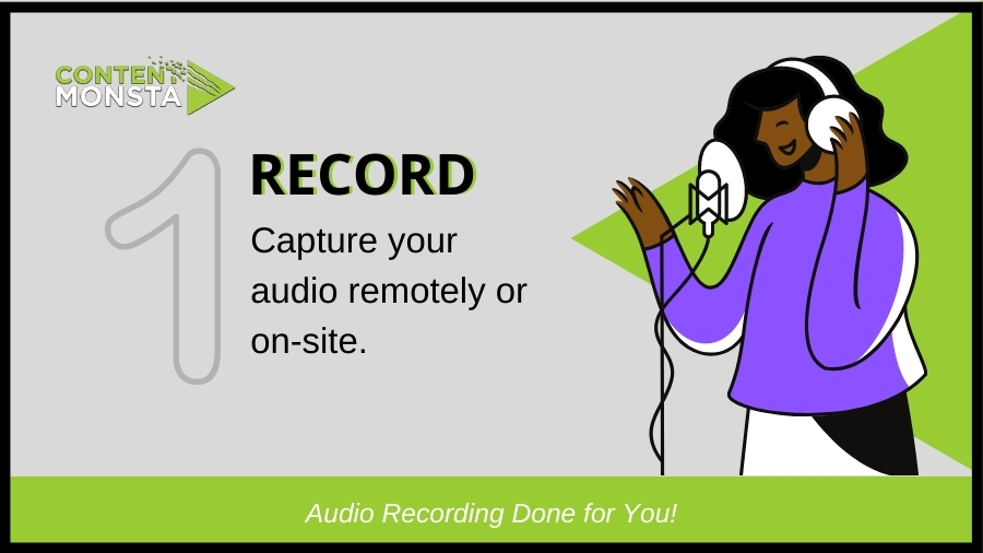 Record podcast remotely