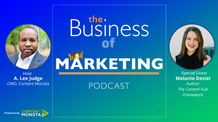 Melanie Deziel on The Business of Marketing Podcast