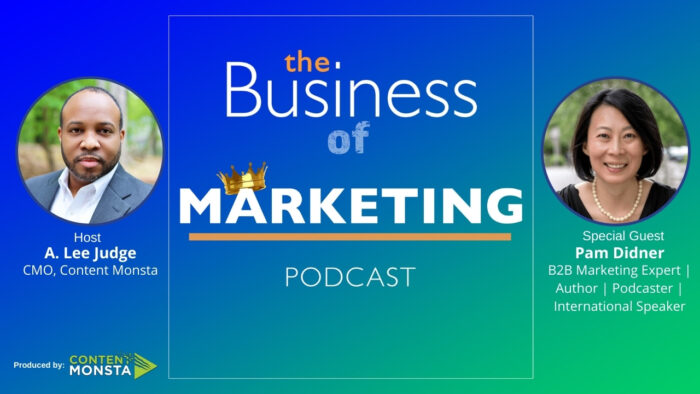 Pam Didner - Business of Marketing Podcast