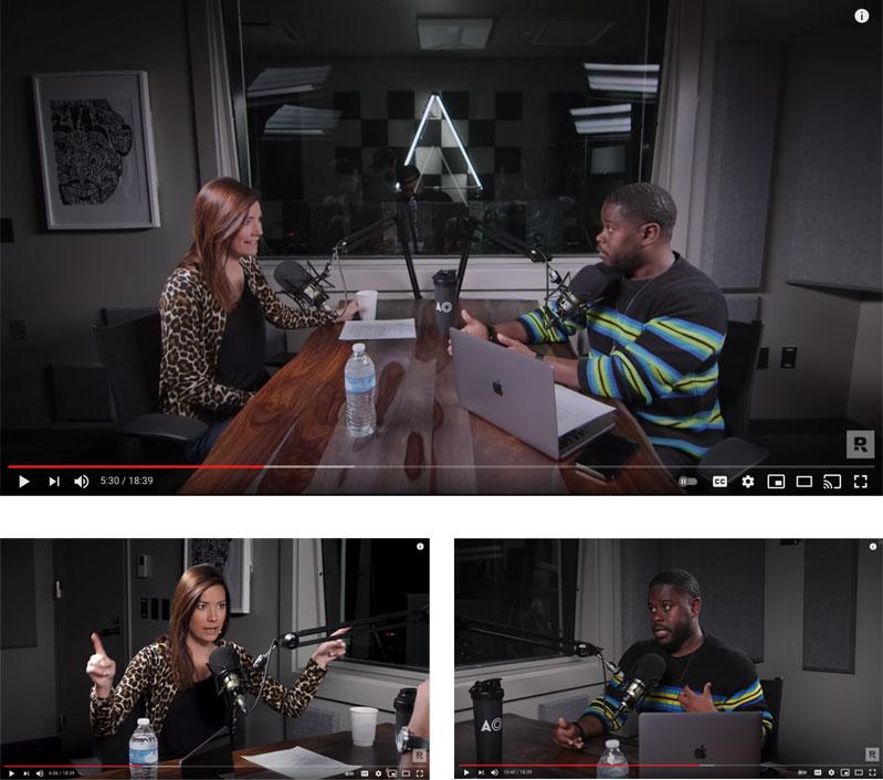 Multi Camera In-Studio Podcast Show setup