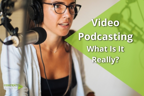 What is a video podcast